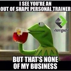 kermit out of shape trainer